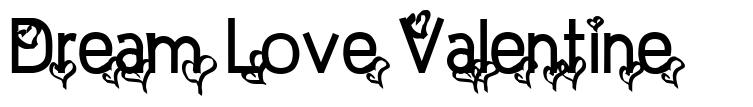 Dream Love Valentine font