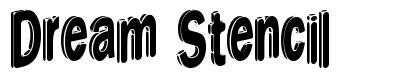 Dream Stencil font