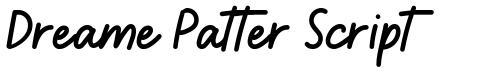 Dreame Patter Script