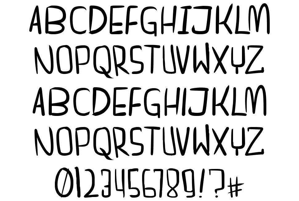 Dreamgirl's dream font