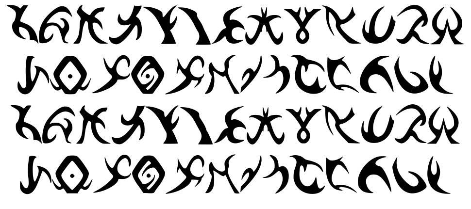Drenn s Runes फॉन्ट