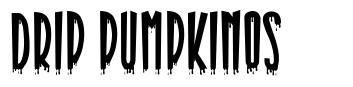 Drip Pumpkinos