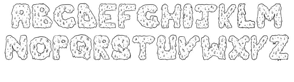 Dripping Cool font