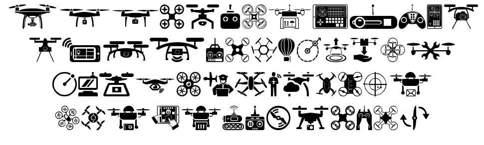 Drone fuente