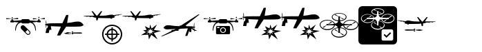 Drone Attack font
