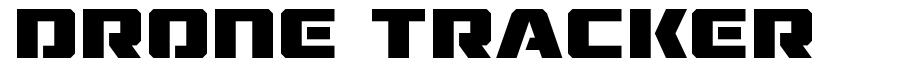 Drone Tracker font