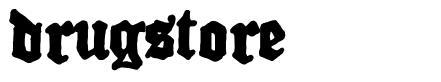 Drugstore font