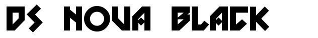 DS Nova Black font
