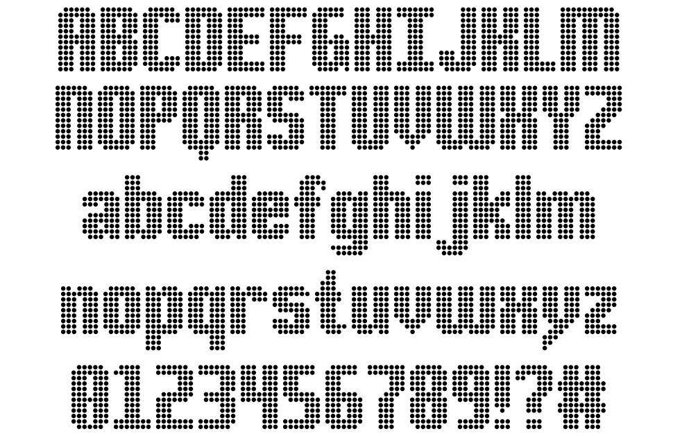 DS Point font