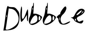 Dubble font
