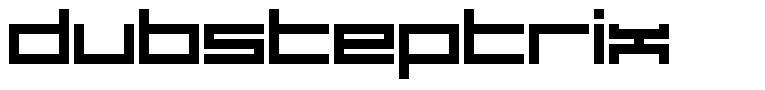Dubsteptrix шрифт