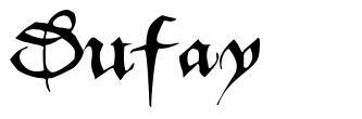 Dufay font