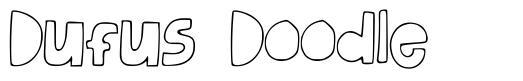 Dufus Doodle font