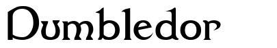 Dumbledor font