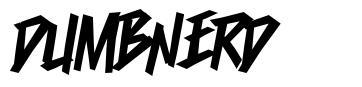 Dumbnerd font