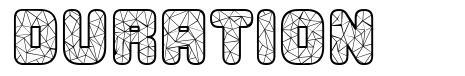 Duration font
