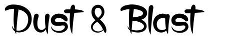 Dust & Blast font