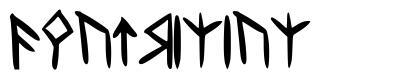 Dwarvinian font