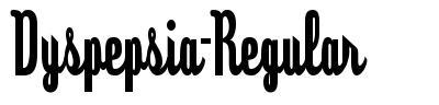 Dyspepsia-Regular