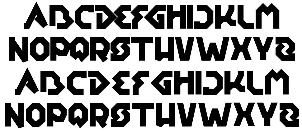 Earth Aircraft Universe font by weknow - FontRiver