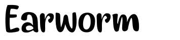 Earworm font