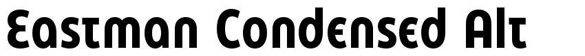 Eastman Condensed Alt font