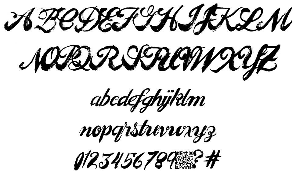 Easy People font