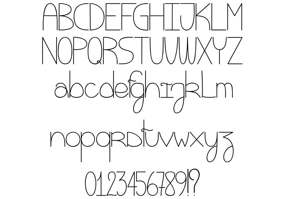 Eat My Cookie font
