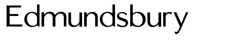 Edmundsbury font