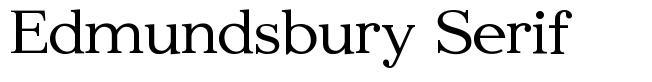 Edmundsbury Serif