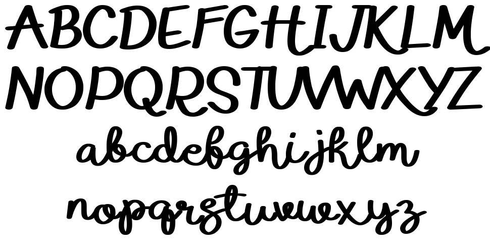 Eduardo & Aurelia font