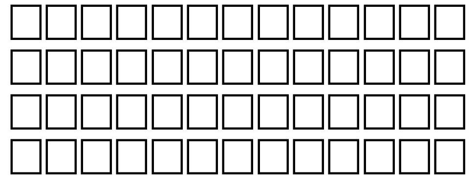 Eileens Medium Zodiac フォント