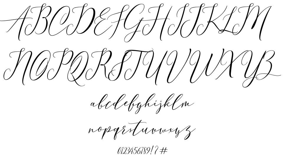 Eivitarri Blossom шрифт