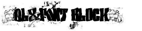 (el&font BLOCK)