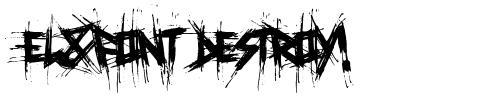 El&Font Destroy!