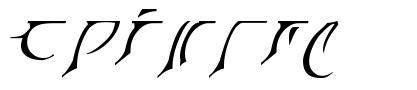 Eladrin font