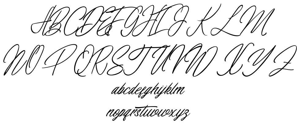 Elaineighteen font