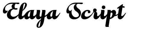 Elaya Script