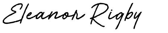 Eleanor Rigby font