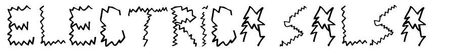 Electrica Salsa font