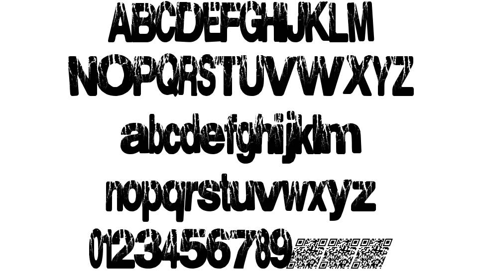 Electrical Storm font