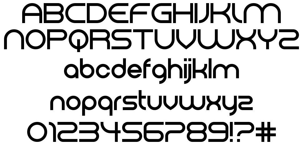 Electromagnetic Lungs font