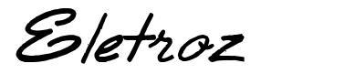 Eletroz フォント