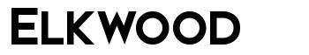 Elkwood font