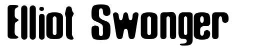Elliot Swonger шрифт