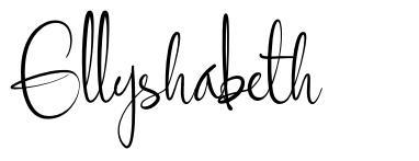 Ellyshabeth
