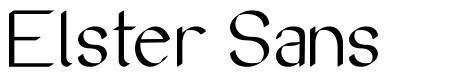 Elster Sans