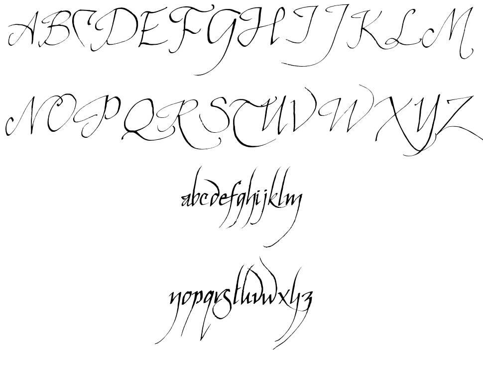 Elven Common Speak font