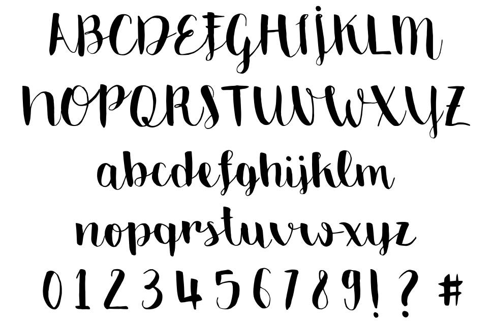 Emily the brush font by monofonts fontriver