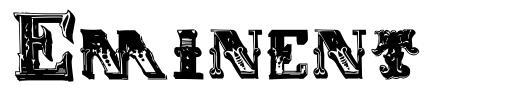 Eminent шрифт